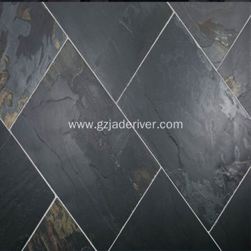 Natural Blue Slate Slippery Tile Floor