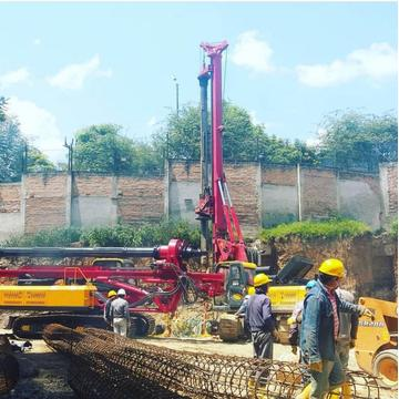 Quality rotary water well pile rig for sale