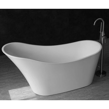 White Acrylic Freestanding Bathtubs Bath Tub