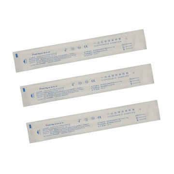 PP Medical Tube ABS Nylon Flocked Swab Kits