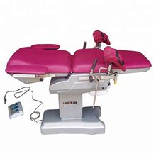 Hospital operating medical obstetric gynecological table