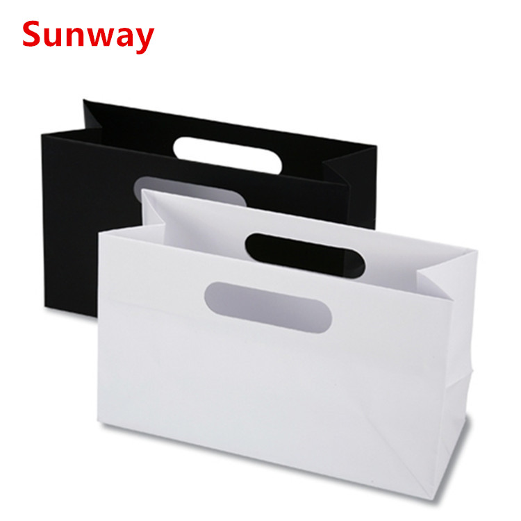 Paper Shopping Bags No Handles