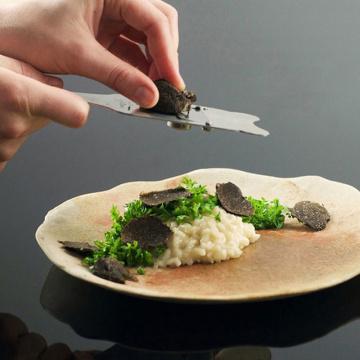 Metal Chocolate Shaver Tool Truffle Slicer Stainless Steel Chocolate Truffle Shaver Knife Truffle Slicer Grater Cutter Kitchen