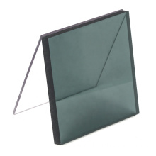 Smoke grey translucent solid polycarbonate for car window