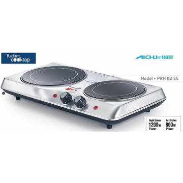 Presige Hot Plates Electric Stove 2 Burners
