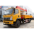 Dongfeng Truck Cargo With 7Tons Loader Crane