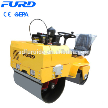 Furd Official 700kg Light Vibratory Double Drum Road Roller  Fyl-855