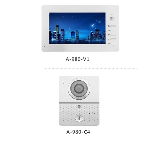 Video Apartment Building Door Bells System