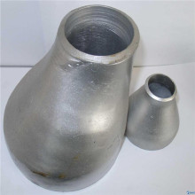 Seamless pipe fitting reducer