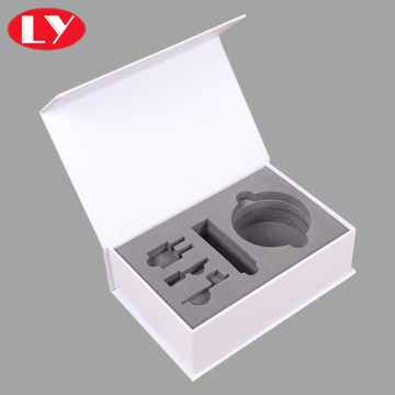 Luxury custom white paper box for industrial products