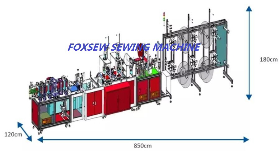 Fully Automatic KN95 Mask Production Line -2