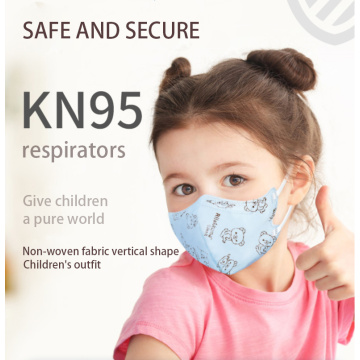 Mouth-muffle KN95 medical protective Masks for children