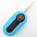 Silicone car remote key protector for Fiat