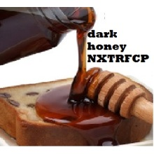 High quality natural and pure dark honey