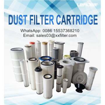 Donaldson pleated filter cartridge