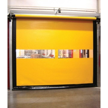 Cold Insulation Aluminum Alloy Rapid High Speed ​​Door
