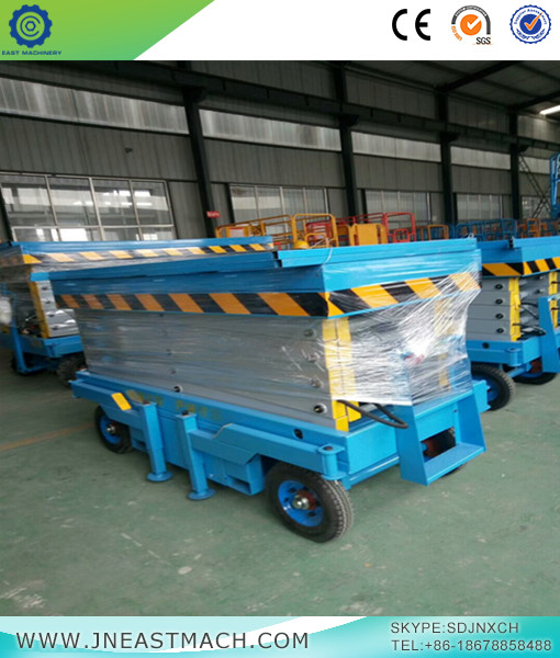 Electric Hydraulic Mobile Scissor Lift