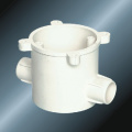 PVC Insulating Electrical Two Way Extension Ring Fitting