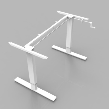 Hand Crank Adjustable Desk Stand Up Tables