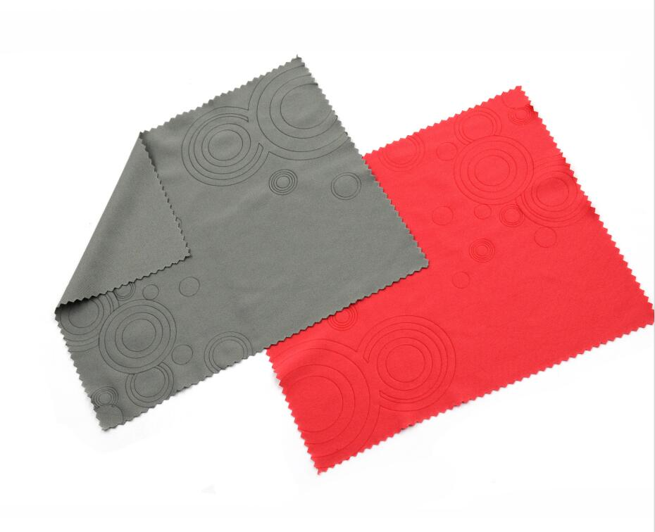 Professional Microfiber Eyeglass Cleaning Cloth With Emboss