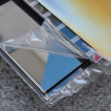 mirror stainless steel  plate 1/4 ss sheet