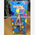 Number Shaped Glitter Birthday Candles