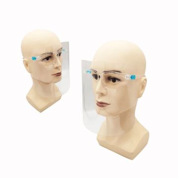 Anti-Fog Clear Protective Glasses Face Shield