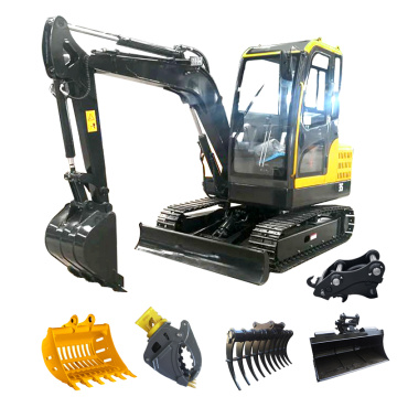 Big performance in a Mini Excavator 1 ton with High-quality accessories