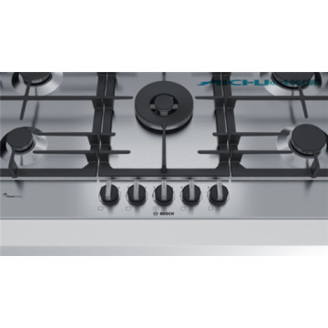 Bosch Built In Stainless Steel Cast Iron GasStove