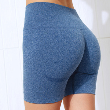 Women High Waist Sports Shorts