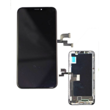 iPhone X LCD Display Touch Digitizer Assembly Cuir in áit