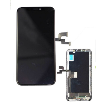 iPhone X LCD Display Touch dijital monitè ranplase
