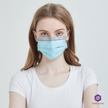 Disposable 3 Ply Earloop Protective Blue Masks