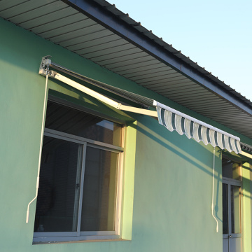 Retractable arms awning 3.0*2.5M Green