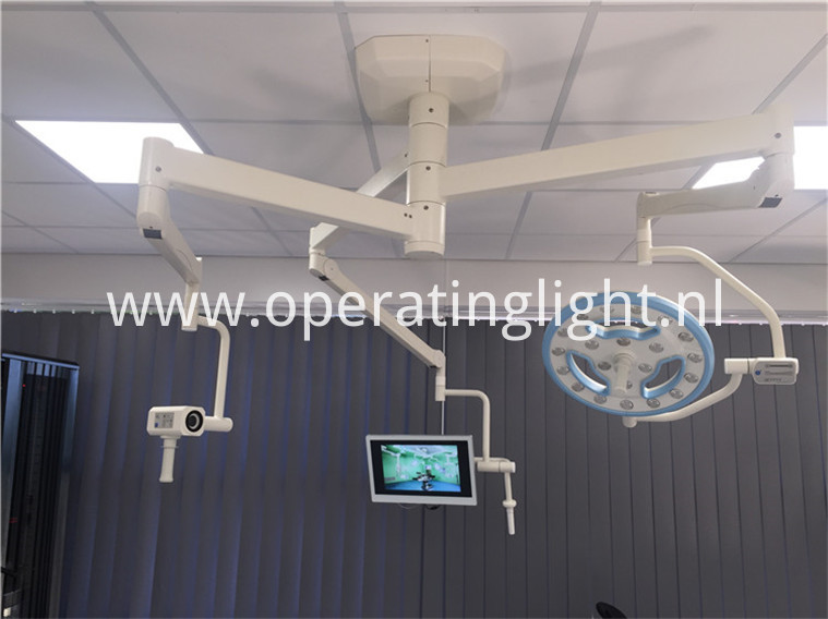 Hollow OT lamp with camera