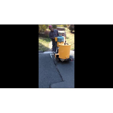 Asphalt Road Electric Running Crack Sealing Machine For Road Surface FGF-60