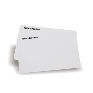 White Blank Cards For Zebra Printer