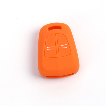 Silicone replacement car key fob case for Opel