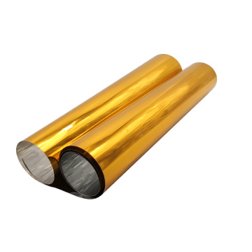 Customized Golden Pvc Films