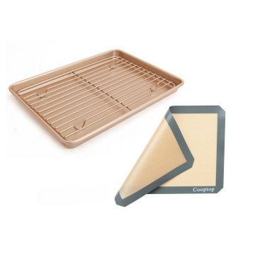 Jelly Roll Pan with Mat and Cooling Rack