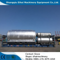 Horizontal Rotating Waste Plastic Recycling Plant