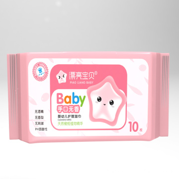 Aloe Vera Chlorine Free Baby Cleaning Wet Wipes