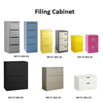 File Storage 2 Drawers Lateral Steel Cabinet