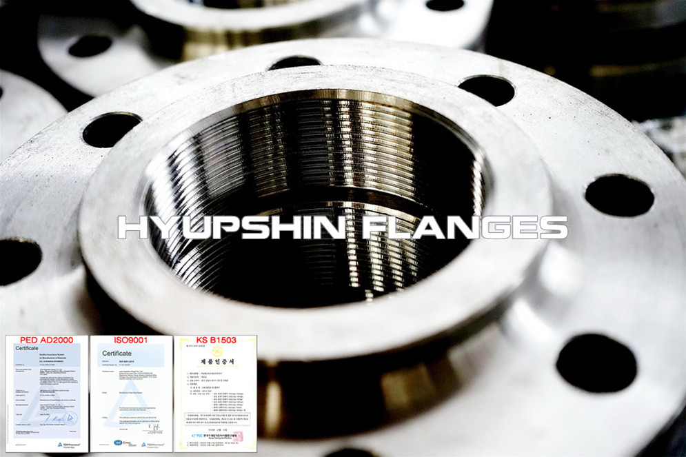 Hyupshin Flanges Npt Screwed Threaded 2566