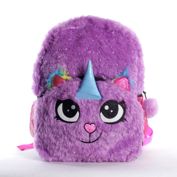 UNICORN PLUSH BACKPACK -0
