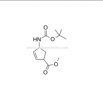 CAS 168683-02-1 Peramivir Intermediates 4-[[(1,1-DIMETHYLETHOXY)CARBONYL]AMINO]-2-CYCLOPENTENE-1-CARBOXYLIC ACID METHYL ESTER