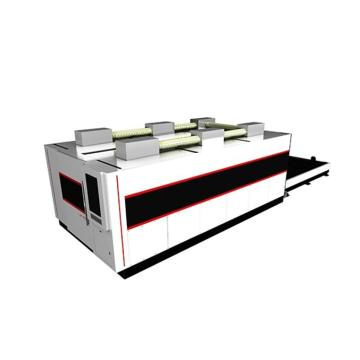Full Protection High Precision Fiber Laser Cutting Machine