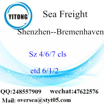 Shenzhen Port LCL Consolidation To Bremenhaven