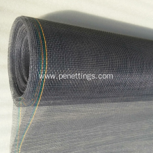 Fire Resistant PVC Plastic Coated Fiberglass Window Screen
