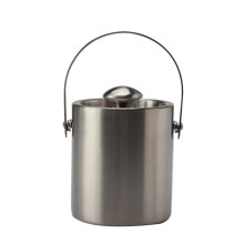 Double-Wall Stainless Steel Insulated Ice Bucket